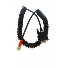 TSI RS232 Coiled Data Cable for Nikon Data Collector