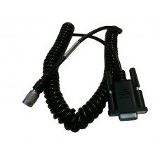 TSI RS232 Coiled Data Cable for Pentax Total Station