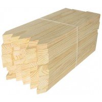 "1 X 2 X 36"" Wooden Stakes 25/Bundle"